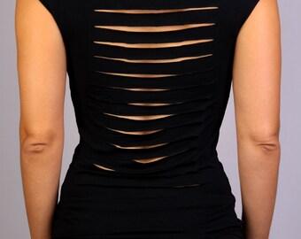 Monica Top in Rayon Lycra - Dance wear, Yoga wear, Active wear, Casual wear