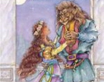Beauty and the Beast Personalized Book