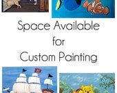 11x14 or 12x12 Custom Painting Space Available