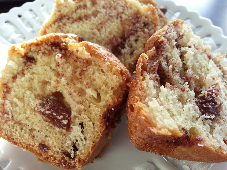 Cinnamon Raisin Bread Mini Loaves 3 loaves