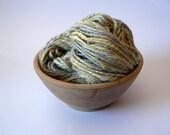 Handspun Navajo Ply Merino Yarn Hand Dyed -Stormcrop 125 yards Bulky Weight