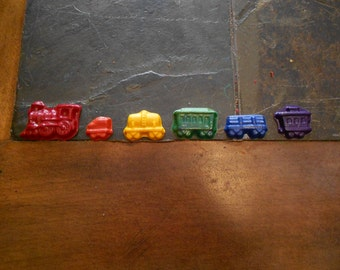 Train Crayon Set