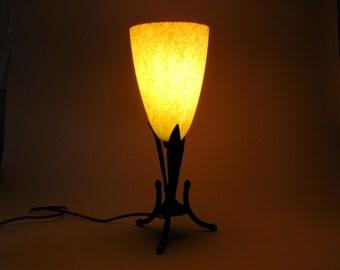 Mid Century Art Nouveau Lamp
