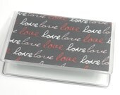 Card Case Mini Wallet Love Love Love