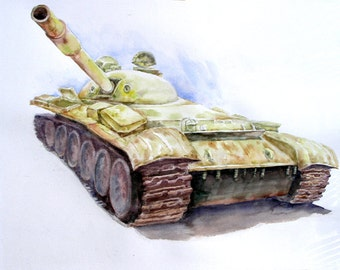 Rusty Tank,   Holiday present / birthday present / art collection