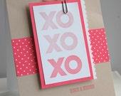 XO hugs kisses valentine
