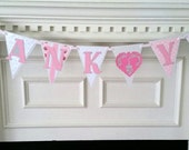 Thank You Banner Photo Prop for Bride and Groom Country Chic
