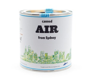Original Canned Air From Sydney, Australia, gag souvenir, gift, memorabilia