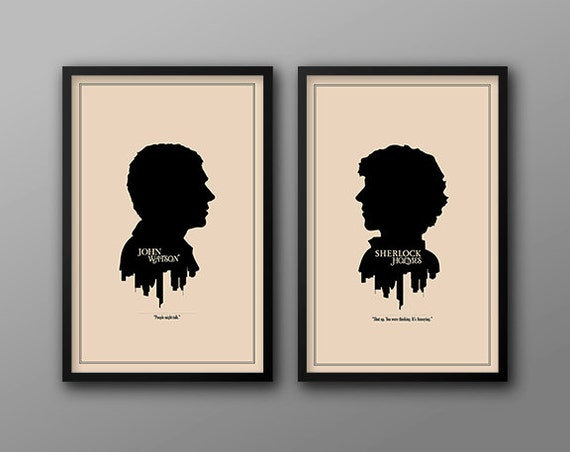 Save 5 all four modern silhouette cameo prints for Minimal art silhouette