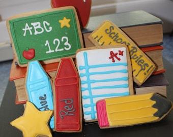 Back to school cookies / teacher appreciation cookies