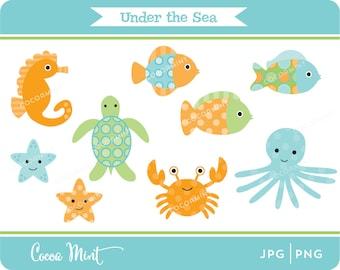 Under the Sea Clip Art