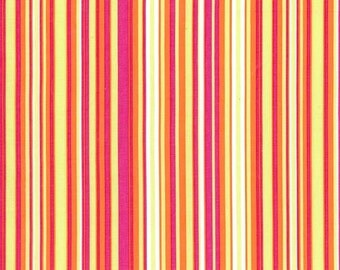 Michael Miller Play Stripe - Tangerine