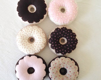 Tea Party Felt Food Donuts-Pretend Play