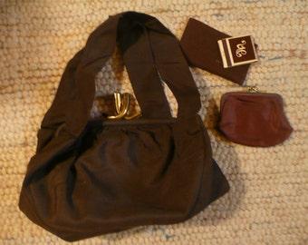 Very Old Sweet Little Handbag with Original Accessories