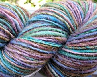EASTER BASKET Hand Spun Hand Dyed Wool Yarn