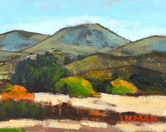 San Diego Art, Mountain Landscape Painting