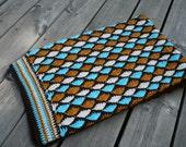 Baby Blanket, Crochet Afghan, Crochet Baby Blanket, Crochet Toddler Blanket, Baby Shower Gift