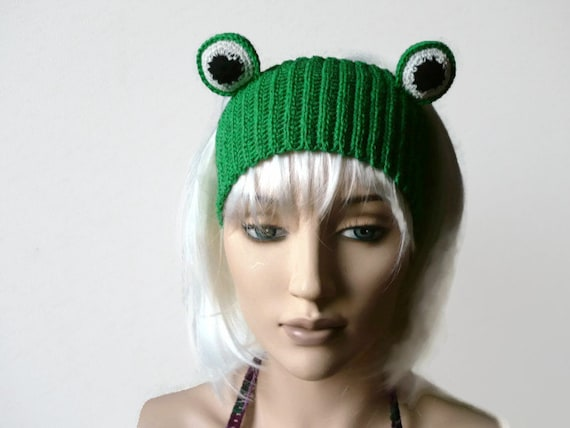 frogged crochet headbands