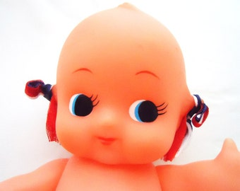 The Authentic Japanese angel Kewpie Rubber Money Box Doll.80s.