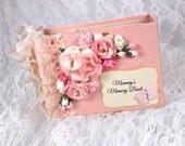 Baby Girl Scrapbook, Baby Scrapbook Album,  4x6 Baby Album, Baby Photo Album, Brag Book, Photo Album, Baby Memory Book, Scrapbook Mini Album