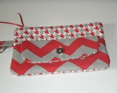 University of Alabama Large Fabric Wallet with Zipper Pouch