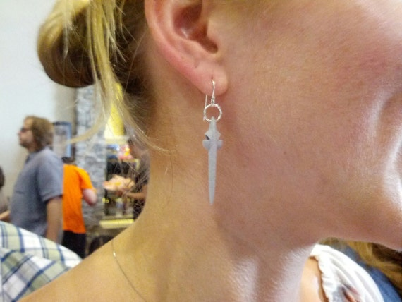 Cosmos earrings - Neil deGrass Tyson's Starship of the Imagination earrings