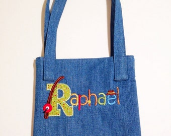 Personalized Child's Tote Bag