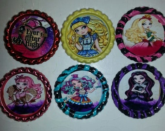 Ever After Theme Bottle Caps
