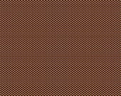 Brown Small Pin Polka Dots - Cotton