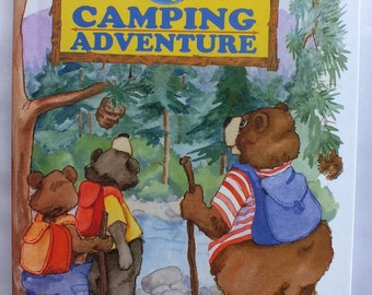 My Camping Adventure Personalized Book - Makes a Great Gift Idea for Children - A Keepsake for years to come