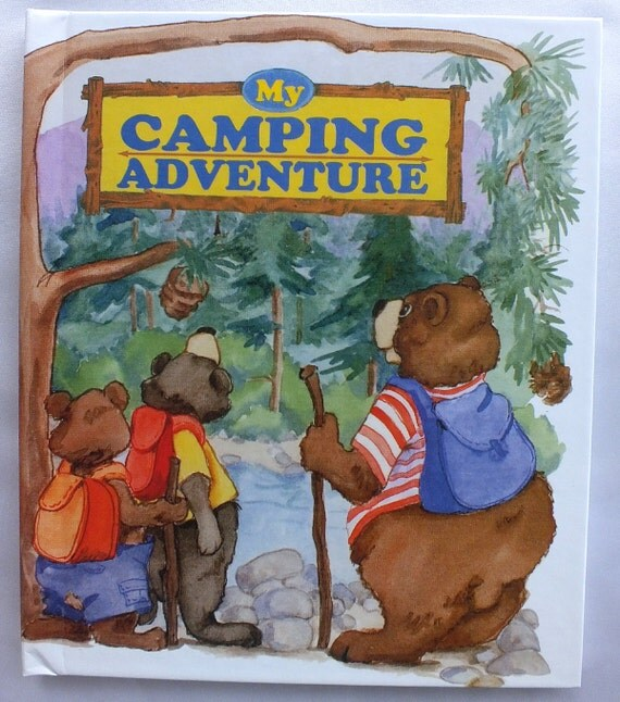 My Camping Adventure Personalized Book Makes a Great Gift