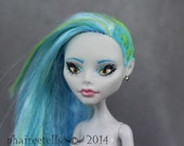 Monster High custom repaint Ghoulia Yelps fairytale *phaireetells OOAK
