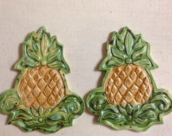 Pineapple tile four inch shaped