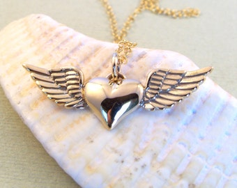 Natural Bronze & Garnet Necklace-Yoga Inspired-Gift
