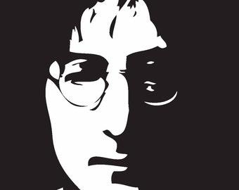 John Lennon Vinyl Decal V16