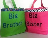Big Sister and Big Brother Kit Tote Bag