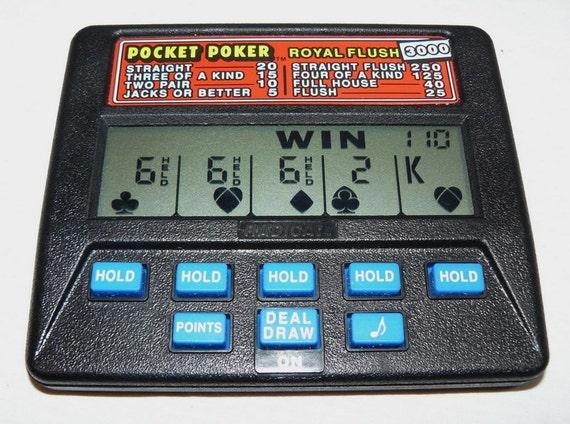 radica hand held poker game 3000