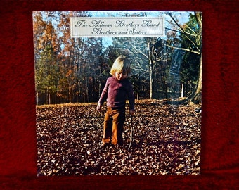 The Allman Brothers Band - Brothers and Sisters - 1973 Vintage Vinyl Record Album