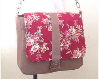 hobo bag messenger bag green hemp zippered closure by ickadybag. Black Bedroom Furniture Sets. Home Design Ideas