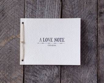 Made To Order Personalized Love Note