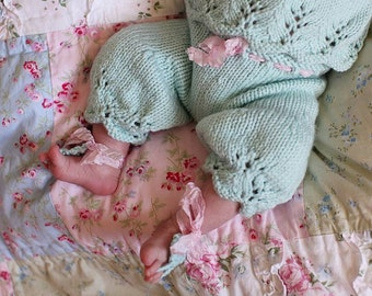 Gracie Pantaloons PATTERN, Newborn Pants, Bloomers, Spring, Summer Knits, Newborn-6 Months, Lace Knitting, Photo Props, Photography Props