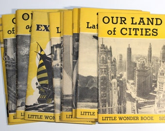 Our Land of Machines -  Little Wonder Book