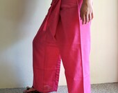 5 COLORS. Handmade cotton free size, fisherman trousers, yoga trousers-pants Relax ethnic clothing