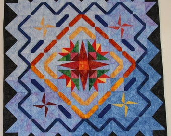 Art Quilt, Northern Lights