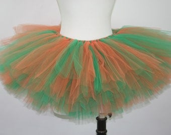 Green and Orange Teen or Adult Tutu St Patrick's Day
