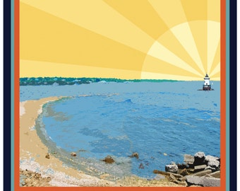 Conimicut Point Poster