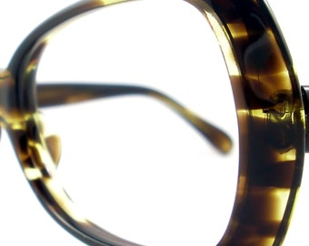 Vintage 50s Frame Cat Eye Eyeglasses Sunglasses Glasses Eyewear New Olive
