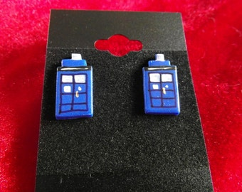 TARDIS Earrings