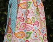 Spring Paisley Pillowcase Dress