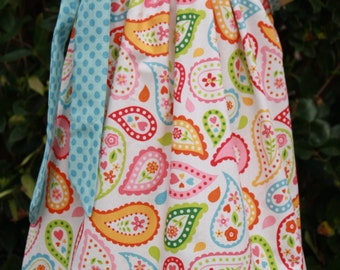 Spring Paisley Pillowcase Dress
